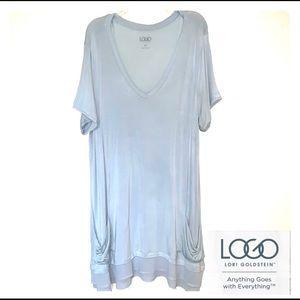 LOGO Lori Goldstein Tunic/Dress